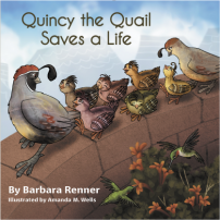Quincy the Quail Saves a Life, Books by Renner Writes