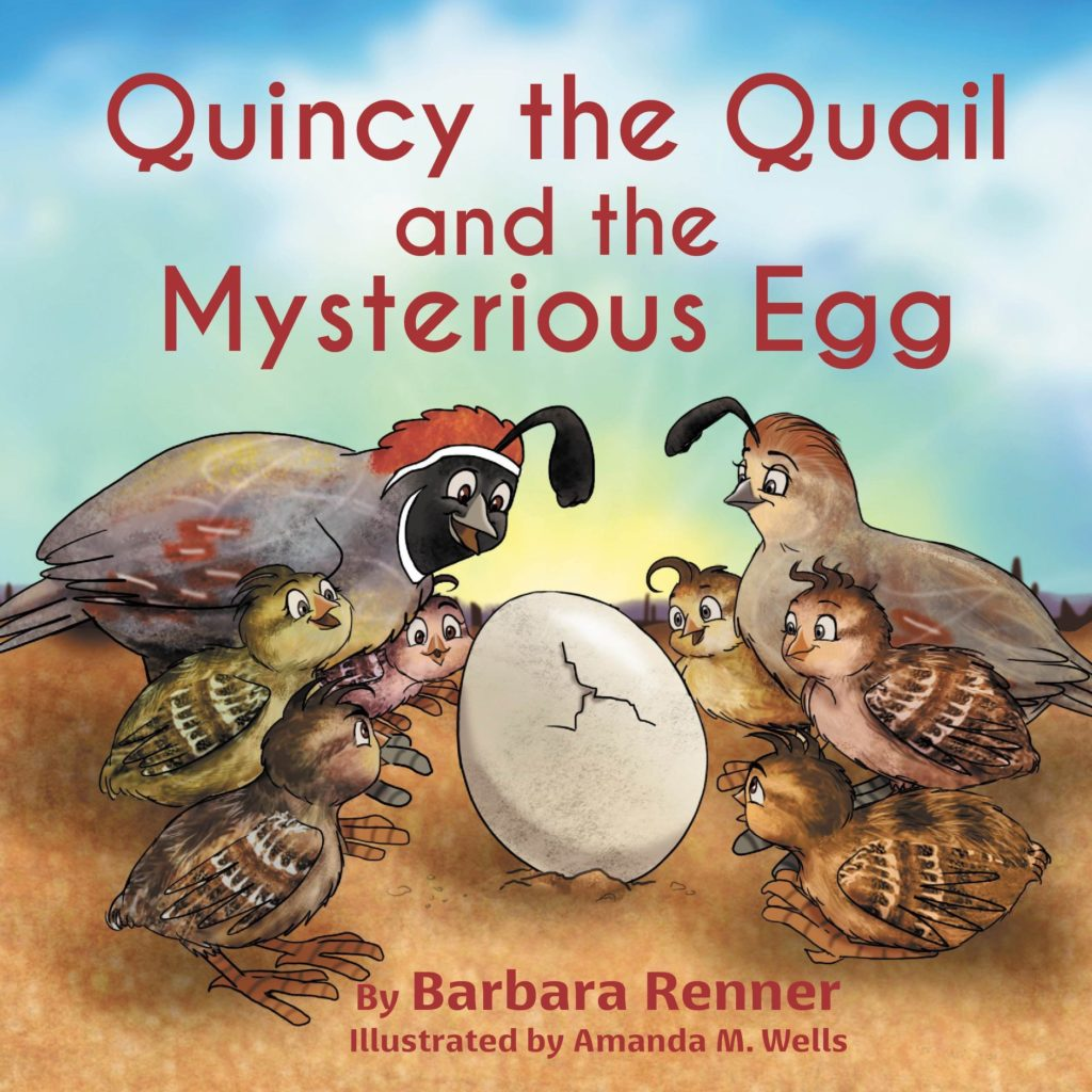 Quincy the Quail and the Mysterious Egg, Books by Renner Writes