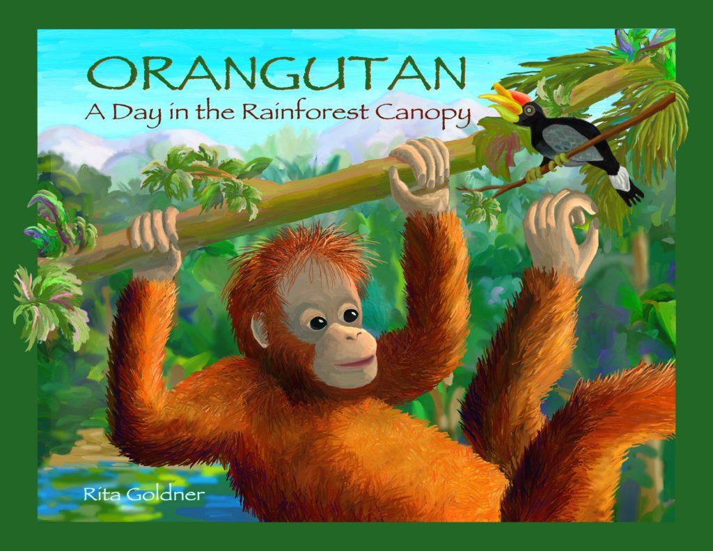Orangutan, A Day in the Rainforest Canopy, by Rita Goldner