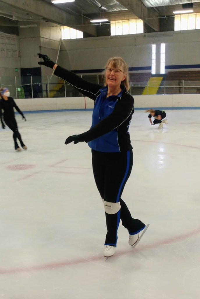 Competitive adult figure skating